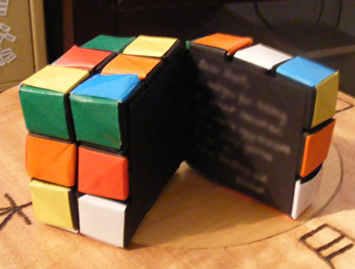 How to Make a Rubik's Cube Out of Paper