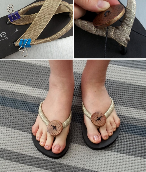 Tutorial para personalizar chanclas de playa