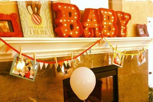 DIY tutorial instructables para hacer letras decorativas para baby shower