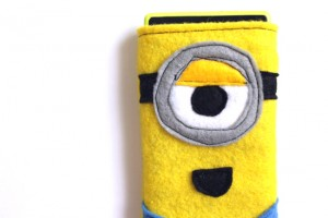 Tutorial funda movil minion