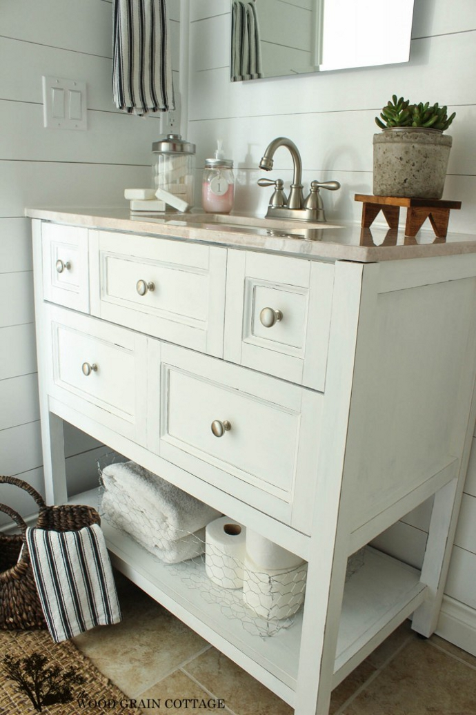 Ideas decoraci n diy con pintura chalk paint de americana - Muebles de colores pintados ...