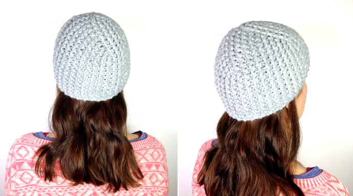 How to loom knit a cloche hat tutorial