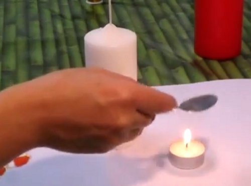 DIY tutorial como decorar velas con decoupage servilletas y cuchara