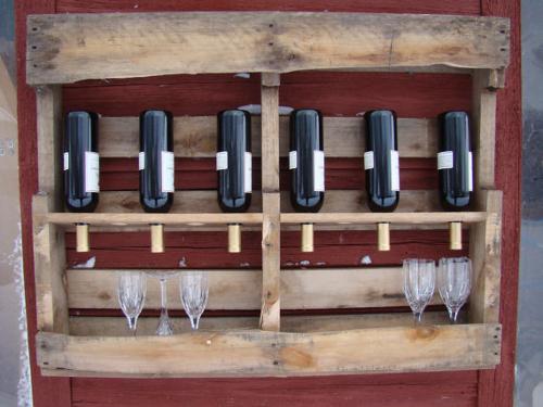 Recicla y crea con palets de madera tut ate - Europaletten wandregal ...