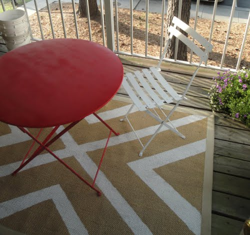 Tutorial alfombra DIY hack de ikea
